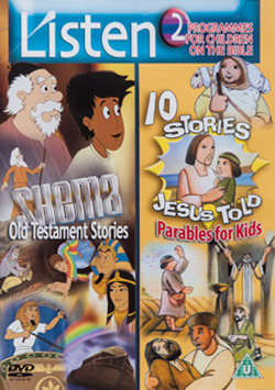 Listen DVD Shema Old Testament Stories and 10 Parables Jesus Told for Kids